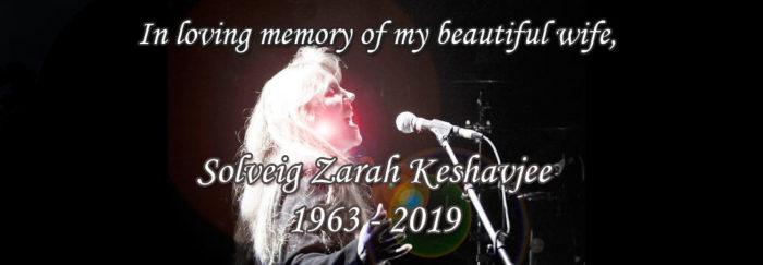 In Memory of Solveig Zarah Keshavjee